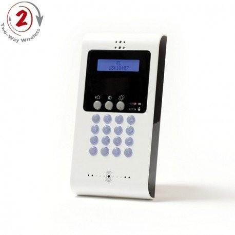 Clavier numerique LCD bidirectionnel radio
