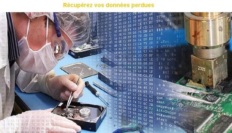 Récuperation de données Avignon