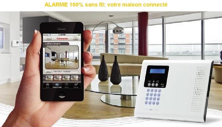 Alarme sans fil Avignon